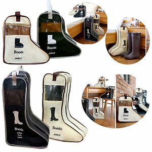 Long-Boot-Shoes-Storage-Bag-Protector-Home-Organizer-Dustproof-Folding-Container