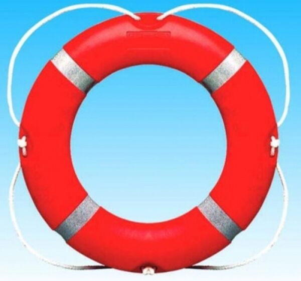 Rettungsring Solas Zulassung 75cm ARBO-INOX