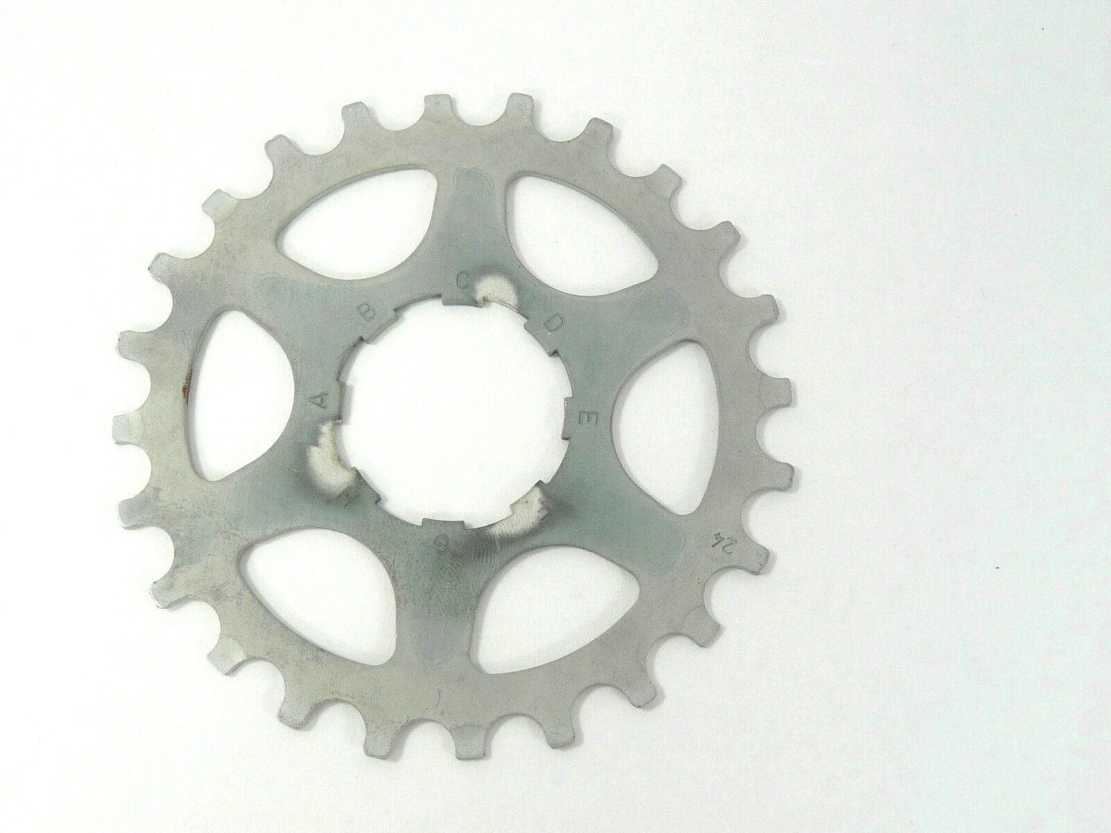 Campagnolo Record cassette cog 24 tooth Alloy Vintage 7 8 speed Bicycle mtb NOS