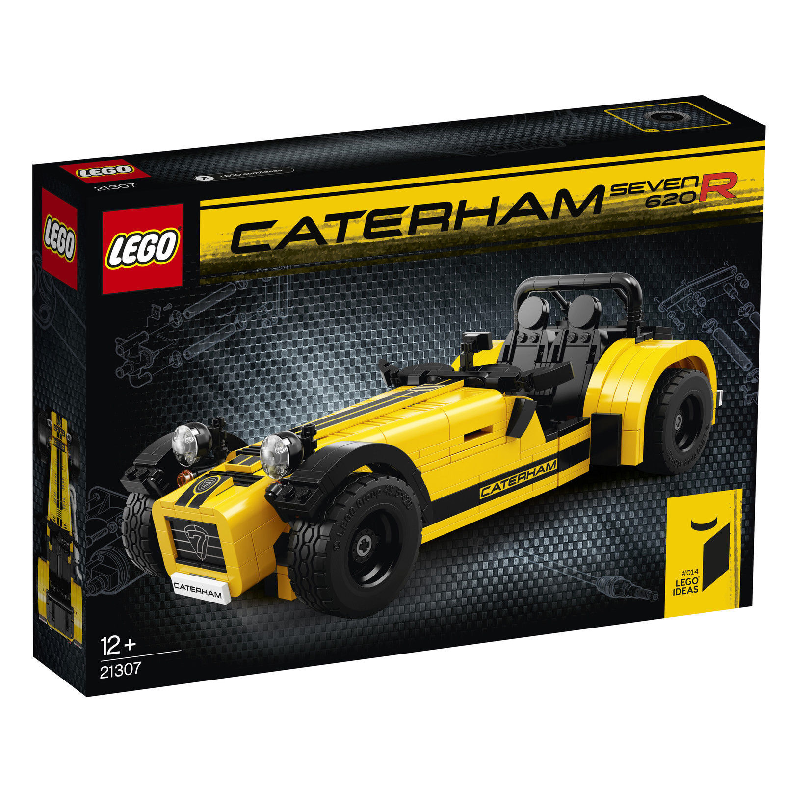 LEGO® Ideas (21307) Caterham Seven 620R inkl Versand Neu & Ovp
