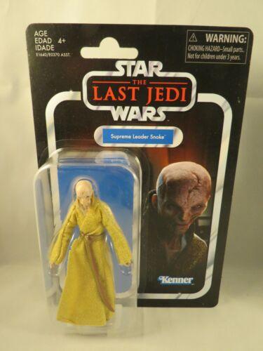 le dernier jedi Star Wars-The Vintage Collection-chef suprême snoke