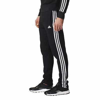 Adidas Essentials 3 Stripe Tracks Tracksuit Pants Black&White All sizes BK7422 | eBay