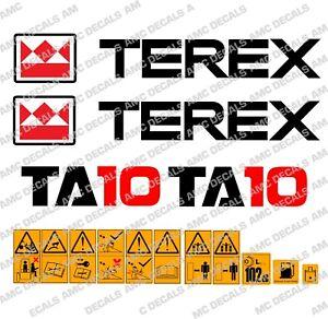 Terex-TA10-Volquete-ADHESIVOS
