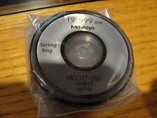 Mitutoyo 177 286 Setting Ring 20mm Size 10mm Width 45mm Outside Diameter New