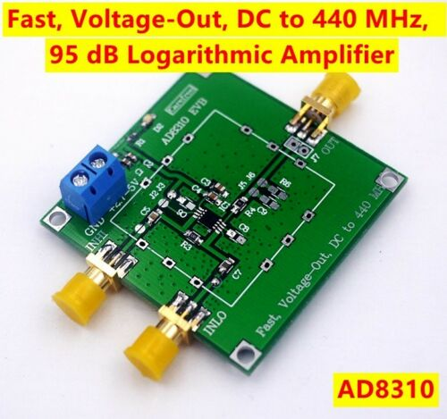 NEW AD8310 Fast Voltage-Out DC-440MHz 95dB Logarithmic Amplifier