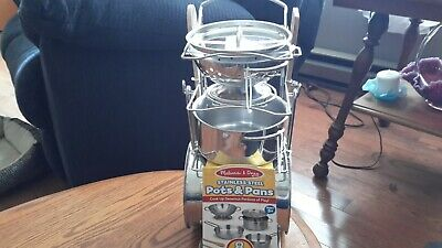 MELISSA /& DOUG Let/'s Play House FREE SHIPP Stir /& Serve Cooking Utensils #9351