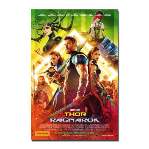 Thor Ragnarok 2017 Movie Art Silk Canvas Poster 12x18 24x36 inches