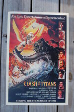Clash of the Titans Lobby Card Movie Poster