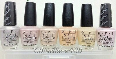 RARE - OPI Nail Lacquer- Soft shades Collection R Series -Pick your fav color