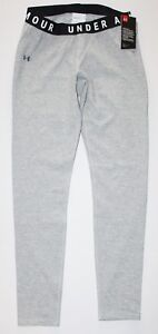 Women's Under Armour Fitted UA Favorite Leggings Steel Gray 1311710