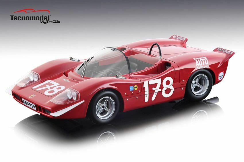 Abarth 2000 S Winner Targa Florio 1969 Bitter   Kelleners 1 18 Model