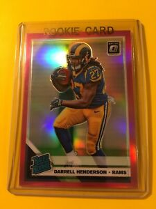 2019-OPTIC-DARRELL-HENDERSON-Pink-Holo-PRIZM-Rated-Rookie-160-LA-Rams