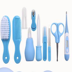 7bb476fda Newborn Baby Kid Nail Hair Health Care Thermometer Grooming Brush ...