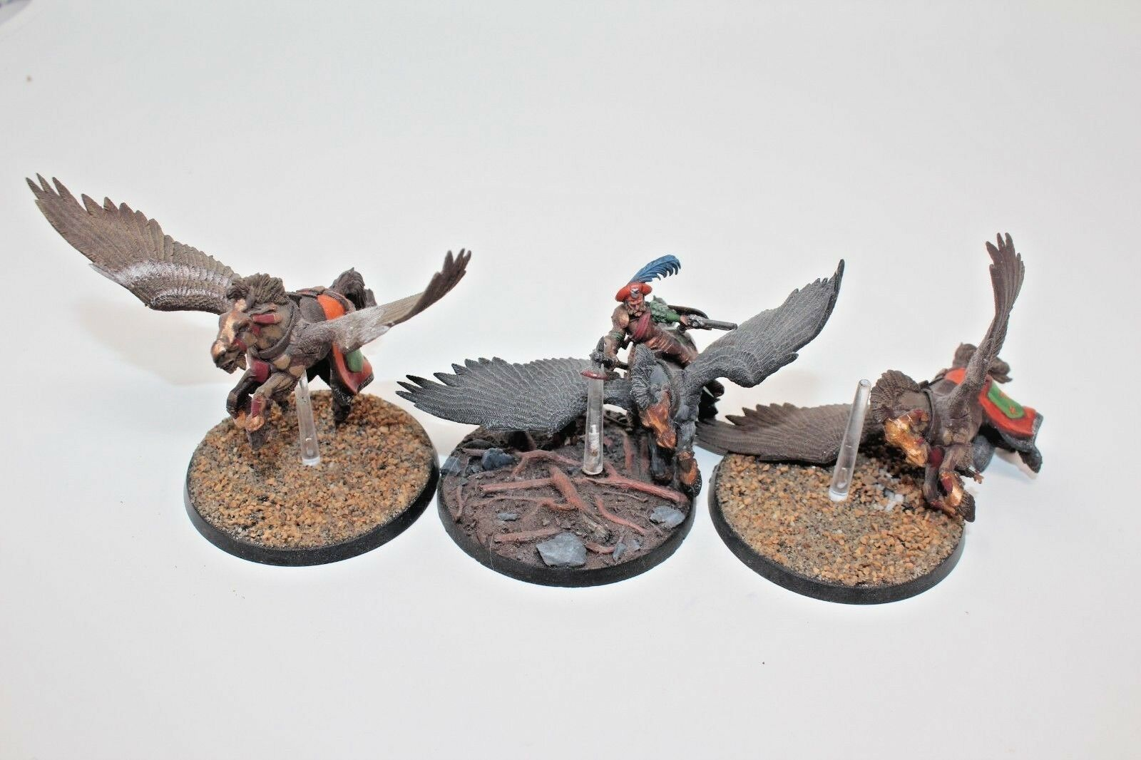 Warhammer Empire Pegasus Knights Well Painted Incomplete - B2