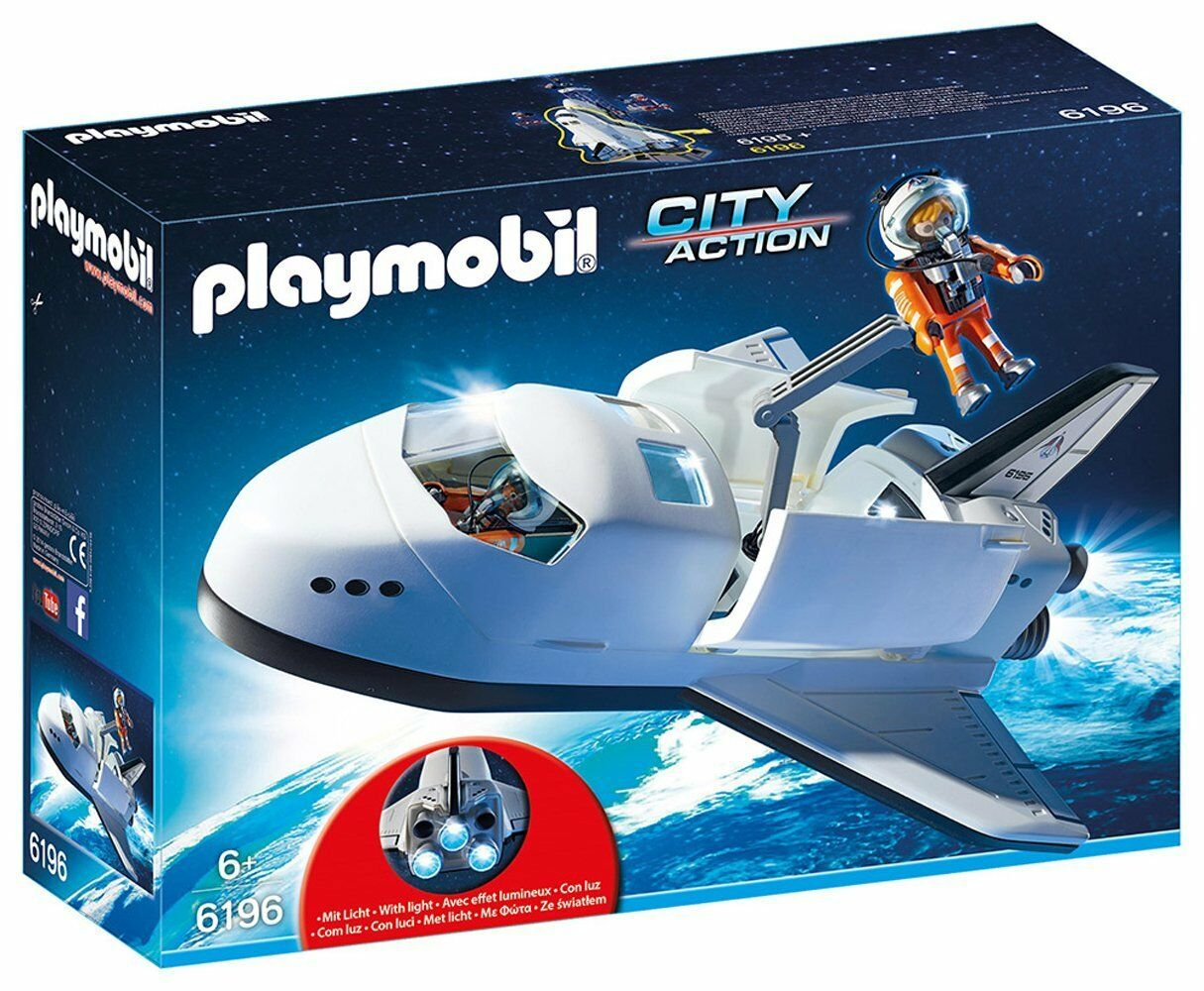 PLAYMOBIL 6196 Space Shuttle New Sealed