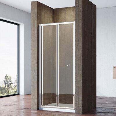 Duschkabine Eckeinstieg 160x80cm Duschabtrennung Schiebetür Duschtür Duschwand