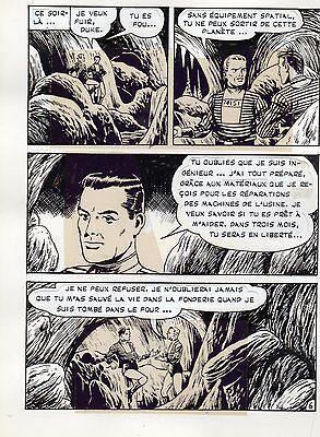 100% Waar Ils Ont Fuit De Venus Planche De Montage Originale Meteor Aredit Page 6