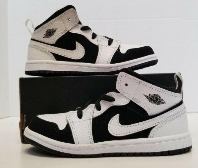 Nike Air Jordan Retro 1 Mid Baby TD Toddler Sneaker Sz 4 C 640735 ...