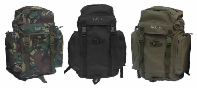 NEW 45L ARMY MILITARY STYLE HIKING OUTDOOR BACKPACK RUCKSACK BERGEN DAYPACK