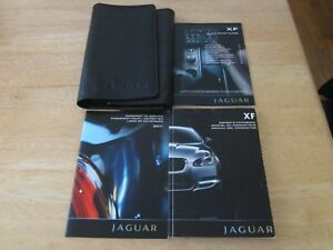 2011 jaguar xf owner manual with navigation section with case oem rh ebay com Jaguar Navigation Manual jaguar xj 2011 user manual