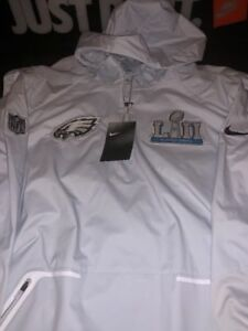 4d6b459cc NIKE PHILADELPHIA EAGLES SIZE XL MEDIA DAY JACKET SUPERBOWL LII RARE ...