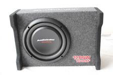 "Audiobahn 10"" 1200W Car Truck Shallow Slim Loaded Boom Bass box Audio Subwoofer"