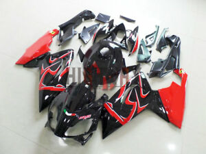 Fairings-2006-2011-For-Aprilia-RS125-Black-Red-Fairing-Bodywork-ABS-Plastic-Kit