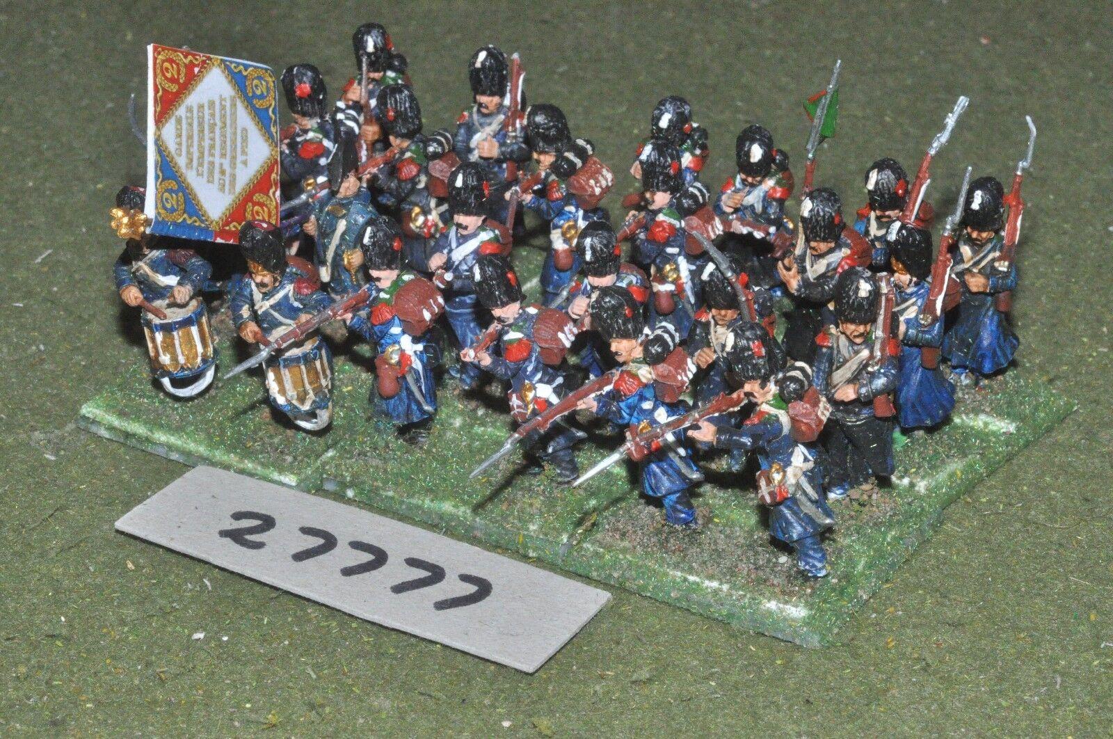 25mm napoleonischen   französisch - garde - regiment 24 zahlen (kunststoff) - inf (27777)