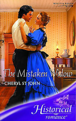 (Good)-The Mistaken Widow (Historical Romance) (Paperback)-St.John, Cheryl-02638
