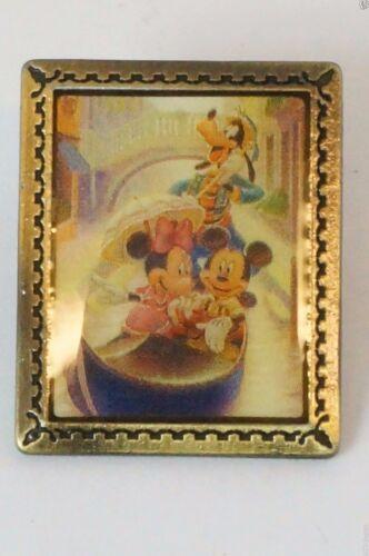 Tokyo Disney Resort Pin TDS Art Pin Venetian Gondolas x Mickey Minnie Goofy