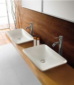 Slim-Square-Bowl-counter-top-Basin-with-pop-up-plug-waste