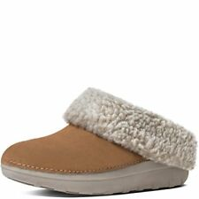 243684f0b5a FitFlop Loaff Snug Slippers Chestnut Womens Shoes 6 for sale online ...