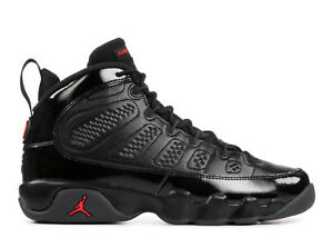 Grade School Youth Size Nike Air Jordan Retro 9 Breds 302359 014