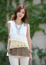 Going Out Sleeveless Blouse Tops for Women