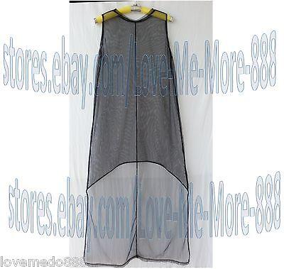 Womens Cool See through SHEER MESH party club SUN  BEACH uneven Long maxi Dress