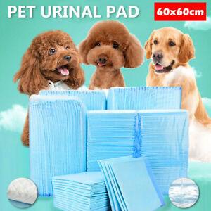 200 X Dog Training Mat Pee Pads Toilet PET Puppy Indoor Potty Pad Mats 60x60CM
