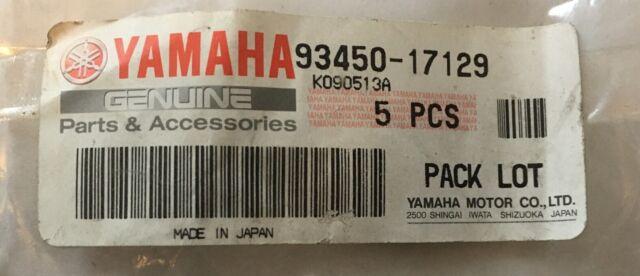 O-Ring PN# 93450-11120 Details about  /*NEW* OEM Yamaha Crankshaft Piston Inner Circlip