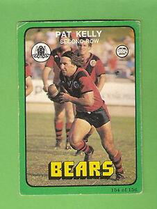 1978-RUGBY-LEAGUE-CARD-154-PAT-KELLY-NORTH-SYDNEY-BEARS