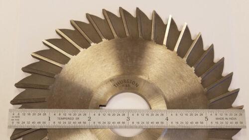 THURSTON I-97 HSS STR Tooth Side Chip Slitting Saw 6 x 3//16 x 1-1//4 #8B-B0113