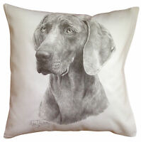 Weimaraner MS Breed of Dog Themed Cotton Cushion Cover - Perfect Gift