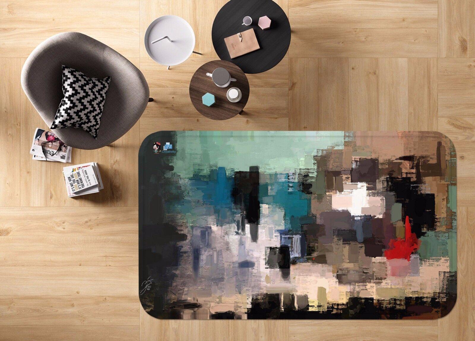 3d mosaico 414 antideslizante alfombra de maletero calidad elegante alfombra de