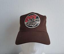 Cafe Racer,Mütze,,Trucker Cap,Braun,Biker,BSA,Old School,Triumph,Vintage