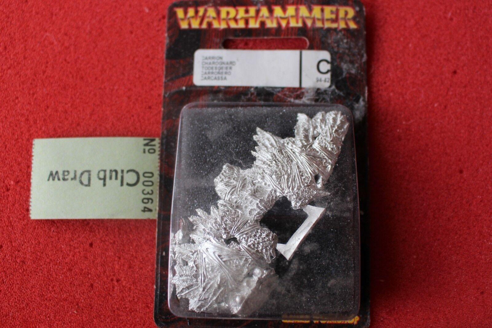 Juegos taller Warhammer fantasy batallón Reyes Cocheroña Metal Nuevo Cocherions Nuevo Y En Caja GW un