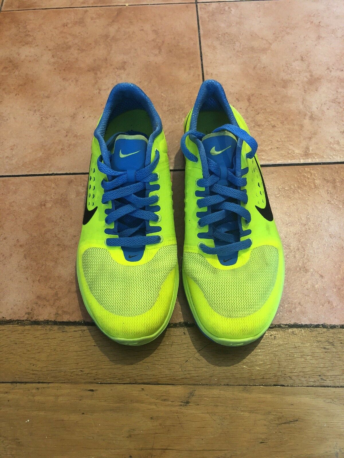 Nike Green And bluee Trainers Size 6