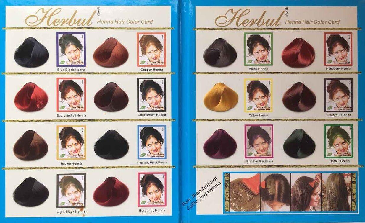 Herbul Hair Colour For Brilliant Shine Supreme Red Henna 100 Natural