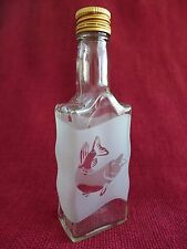 Glass Bottle Flask with Hunting Fishing Design Idea For the Gift Pike Fish 7W
