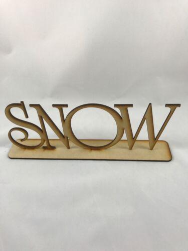 3mm Soporte de nieve Mdf incluso