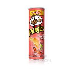 Tom Yum Soup Pringles Potato Chips 110g(3.88oz) 1ea Korea edition Flavor