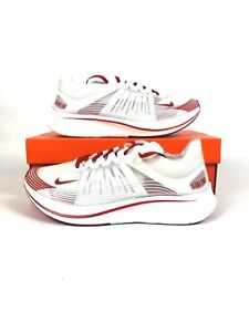 f777484dc0dd NIKE ZOOM FLY SP RUNNING SHOES TOKYO WHITE  CLEAR UNIVERSITY RED ...