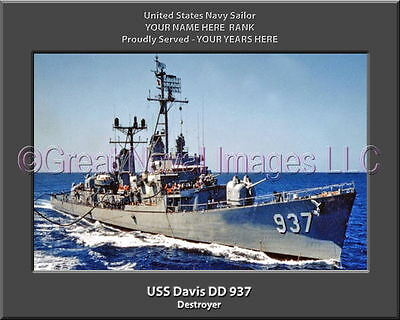 USS AGERHOLM DD-826 VETERAN Vinyl Window Decal U.S NAVY